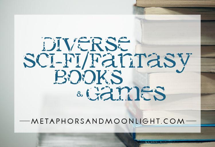 Diverse Sci-Fi/Fantasy Books