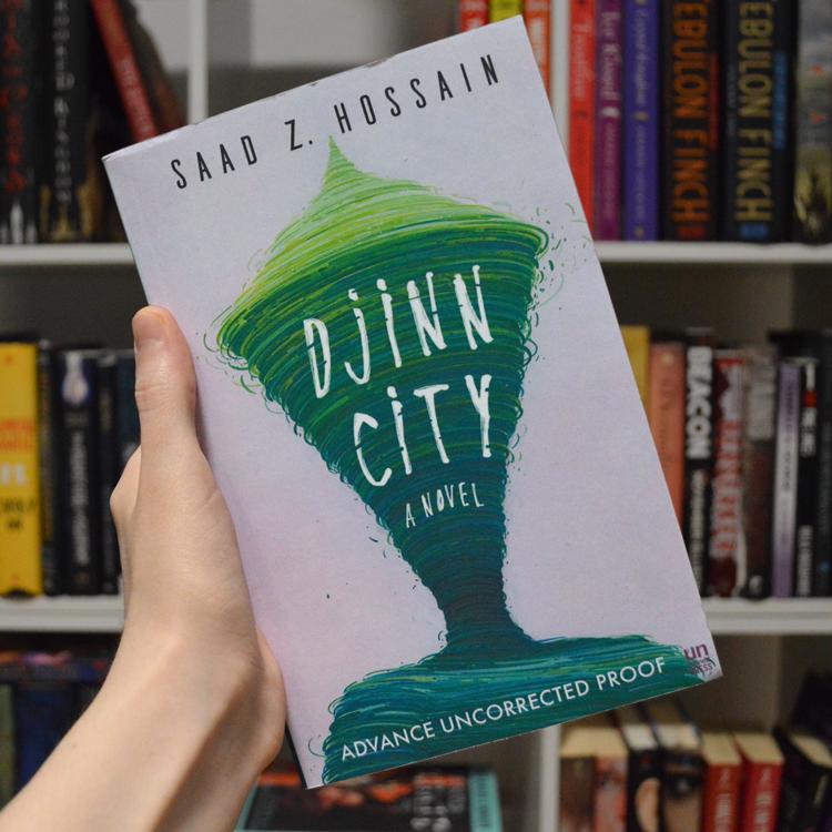 Djinn City by Saad Z. Hossain ARC