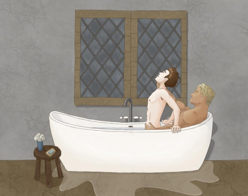 Dorian & Noah Bath
