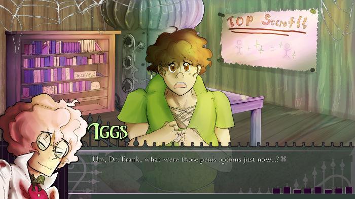 Dr. Frank's Build-A-Boyfriend - Screenshot of Iggs