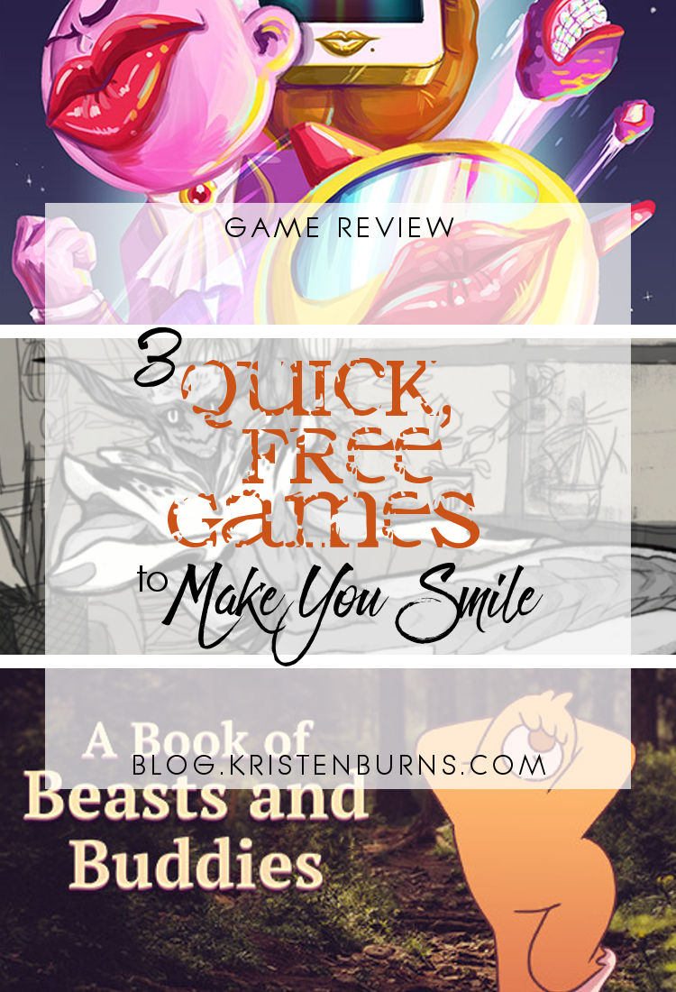 Game Reviews: 3 Quick Free Games to Make You Smile