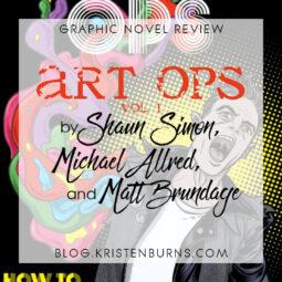 Graphic Novel Review: Art Ops Vol. 1 by Shaun Simon, Michael Allred, & Matt Brundage