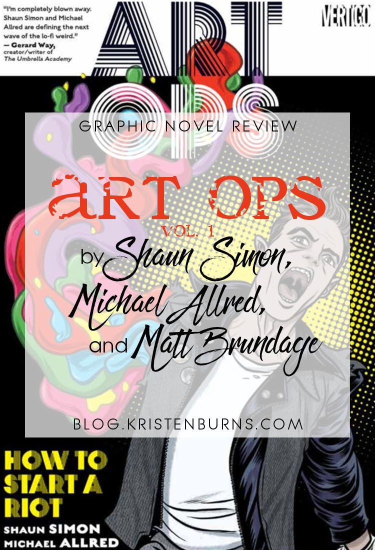 Graphic Novel Review: Art Ops Vol. 1 by Shaun Simon | reading, graphic novel reviews, fantasy