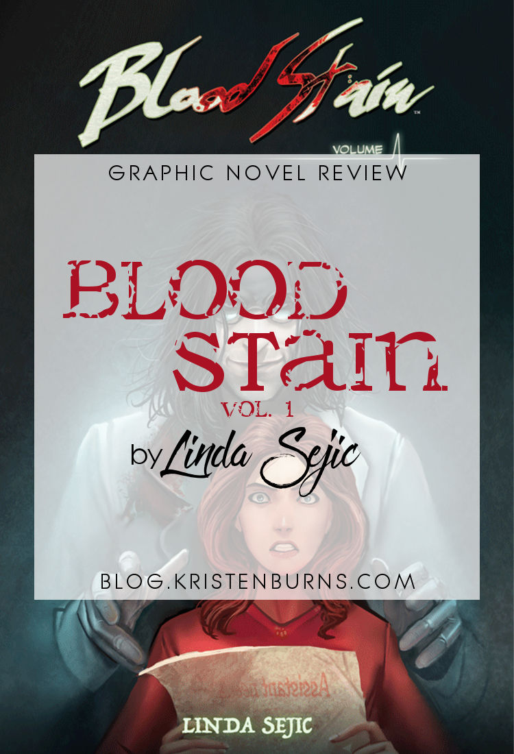 Graphic Novel Review: Blood Stain Vol. 1 by Linda Sejic | reading, graphic novel reviews, slice of life
