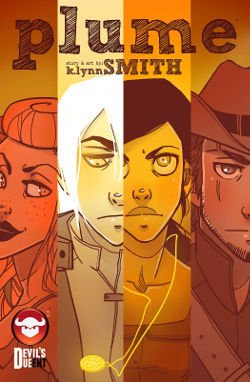 Graphic Novel Review: Plume by K. Lynn Smith | reading, books, graphic novels, webcomics, fantasy, western