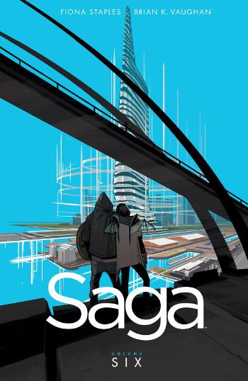 Graphic Novel Review: Saga Vol. 6 by Brian K. Vaughan | reading, graphic novel reviews, fantasy, science fiction