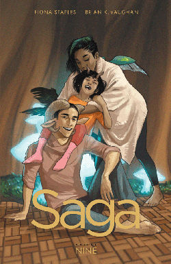 Graphic Novel Review: Saga Vol. 9 by Brian K. Vaughan & Fiona Staples | reading, books, graphic novels, fantasy, science fiction