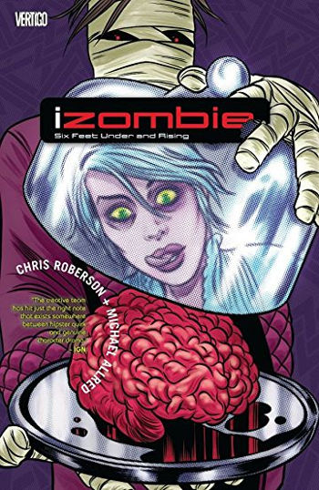 Graphic Novel Review: iZombie Vol. 3 by Chris Roberson & Michael Allred   reading, books, book reviews, graphic novels, fantasy, paranormal/urban fantasy, zombies