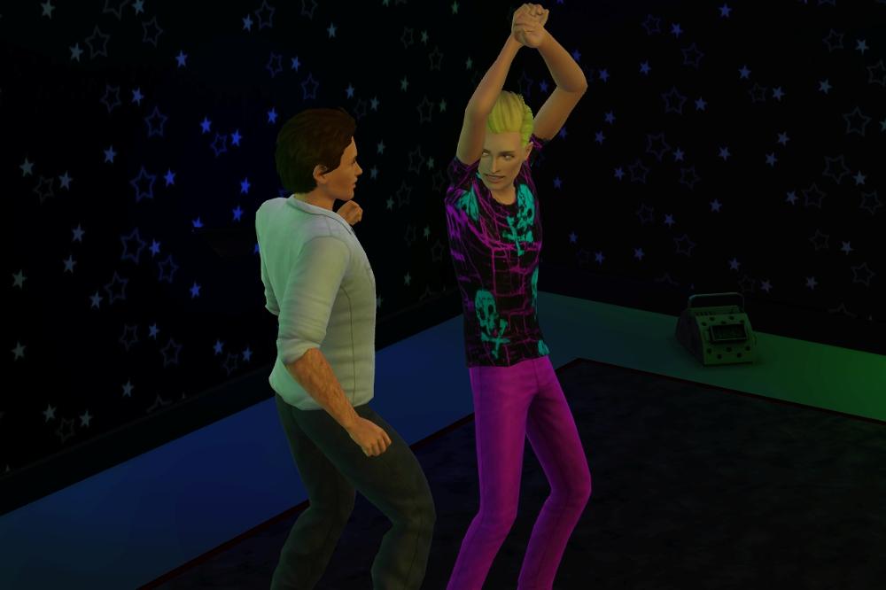 Matthew and Elliott Club Dancing
