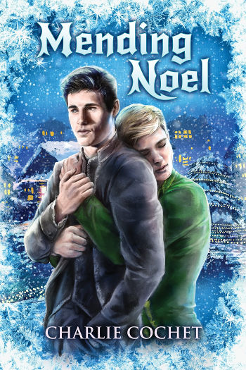 Mini Review: Mending Noel (North Pole City Tales Book 1) by Charlie Cochet   reading, books, book review, fantasy, christmas, lgbt