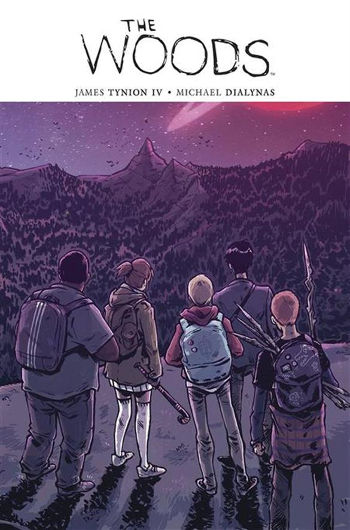 Graphic Novel Review: The Woods Vol. 1 by James Tynion IV | reading, books, book reviews, graphic novel, science fiction, horror