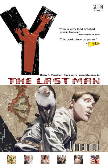 Graphic Novel Review: Y: The Last Man Vol. 1 by Brian K. Vaughan | reading, books, book reviews, graphic novel, science fiction