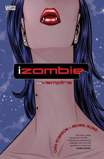 Graphic Novel Review: iZombie Vol. 2 by Chris Roberson & Michael Allred   reading, books, book reviews, graphic novels, fantasy, paranormal/urban fantasy, zombies, shifters, ghosts, mummies