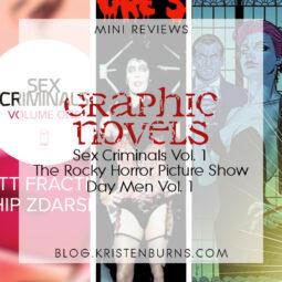Mini Reviews: Graphic Novels – Sex Criminals Vol. 1, The Rocky Horror Picture Show, Day Men Vol. 1