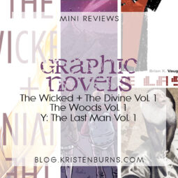 Mini Reviews: Graphic Novels – The Wicked + The Divine Vol. 1, The Woods Vol. 1, Y: The Last Man Vol. 1