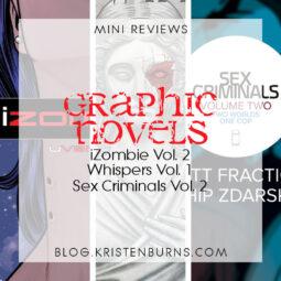 Mini Reviews: Graphic Novels – iZombie Vol. 2, Whispers Vol. 1,  Sex Criminals Vol. 2