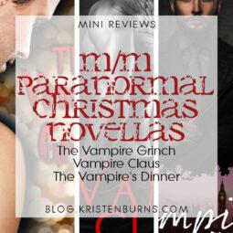 Mini Reviews: M/M Paranormal Christmas Novellas – The Vampire Grinch, Vampire Claus, The Vampire's Dinner