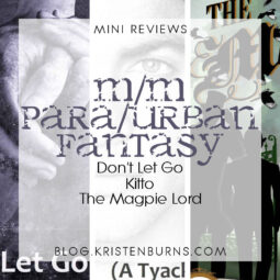 Mini Reviews: M/M Paranormal/Urban Fantasy – Don't Let Go, Kitto, The Magpie Lord