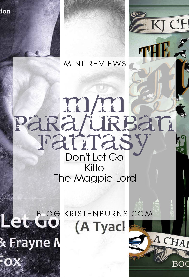Mini Reviews: M/M Paranormal/Urban Fantasy