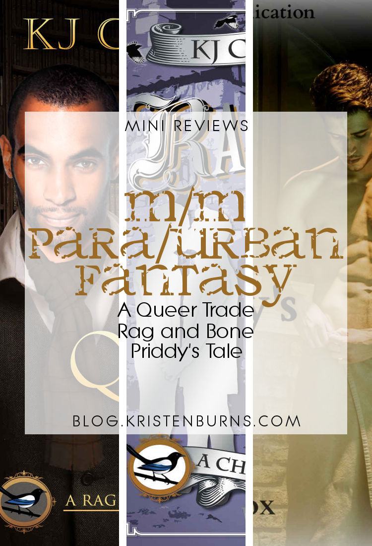 Mini Reviews: M/M Paranormal/Urban Fantasy