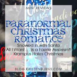 Mini Reviews: Paranormal Christmas Romance – Snowed in with Santa, All I Want for Christmas is a Faerie Assassin, Krampus Hates Christmas