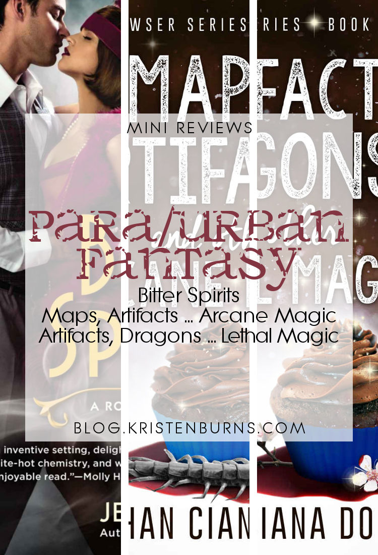 Mini Reviews: Paranormal/Urban Fantasy