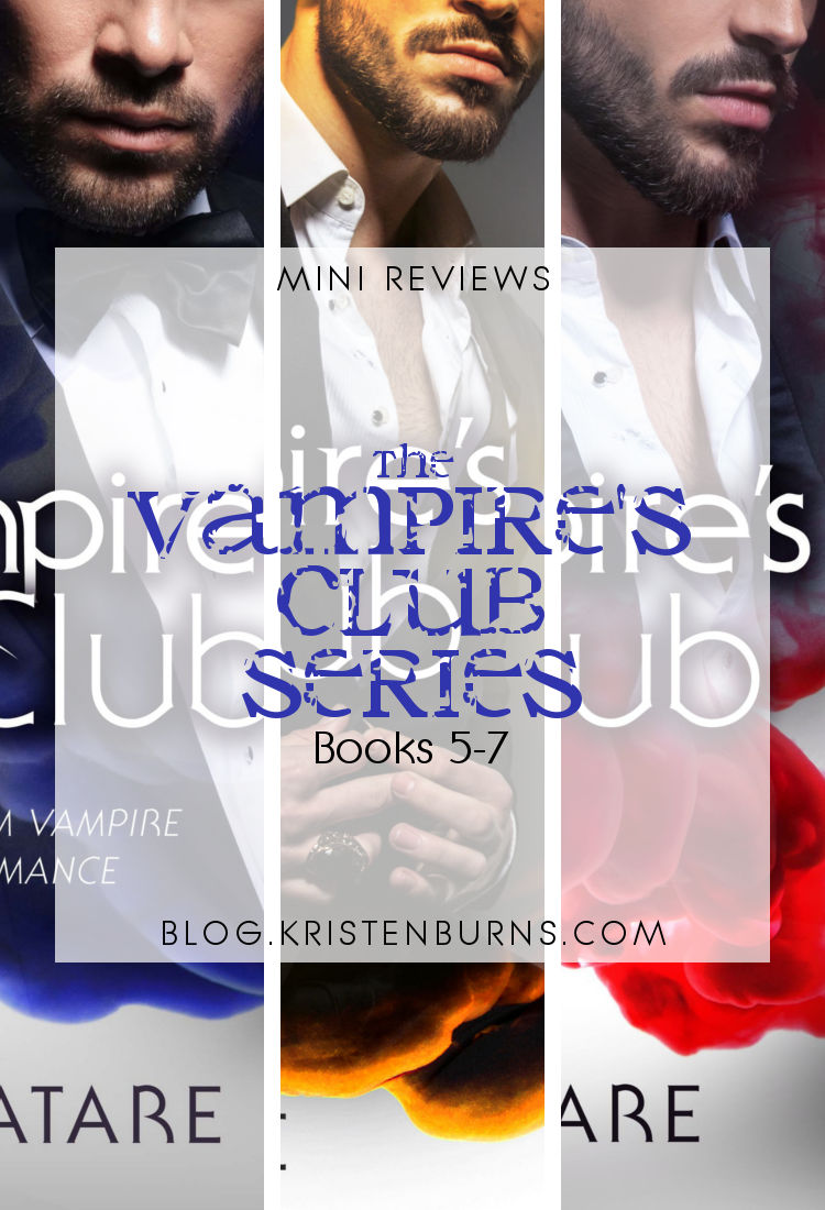 Mini Reviews: The Vampire's Club Series - Books 5-7