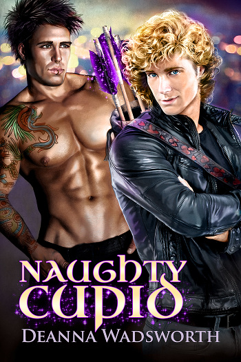Book Review: Naughty Cupid by Deanna Wadsworth | reading, books, book reviews, fantasy, urban fantasy, paranormal romance, mythology, lgbt, m/m, gods