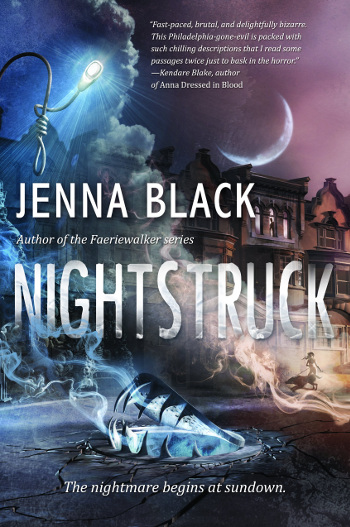 Book Review: Nightstruck by Jenna Black   books, reading, book covers, book reviews, fantasy, urban fantasy, paranormal romance, horror, YA