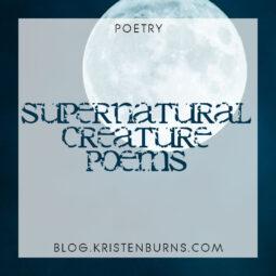 Poetry: Supernatural Creature Poems