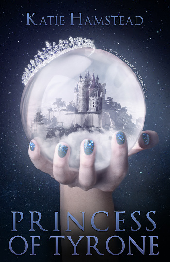 Book Review: Princess of Tyrone (The Fairytale Galaxy Chronicles Book 1) by Katie Hamstead | books, reading, book covers, book reviews, fantasy, sci-fi, retellings, Sleeping Beauty retellings, YA, NA