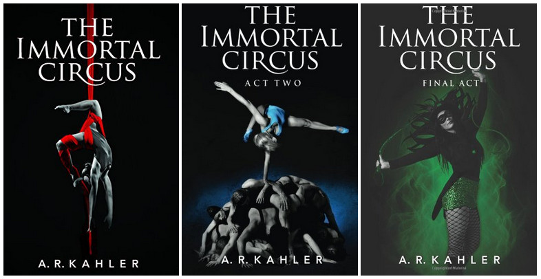 Series Covers - Cirque des Immortels