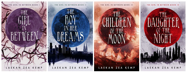 Series Covers - The Girl in Between