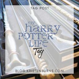 Bookish Tag Post: My Harry Potter Life Tag