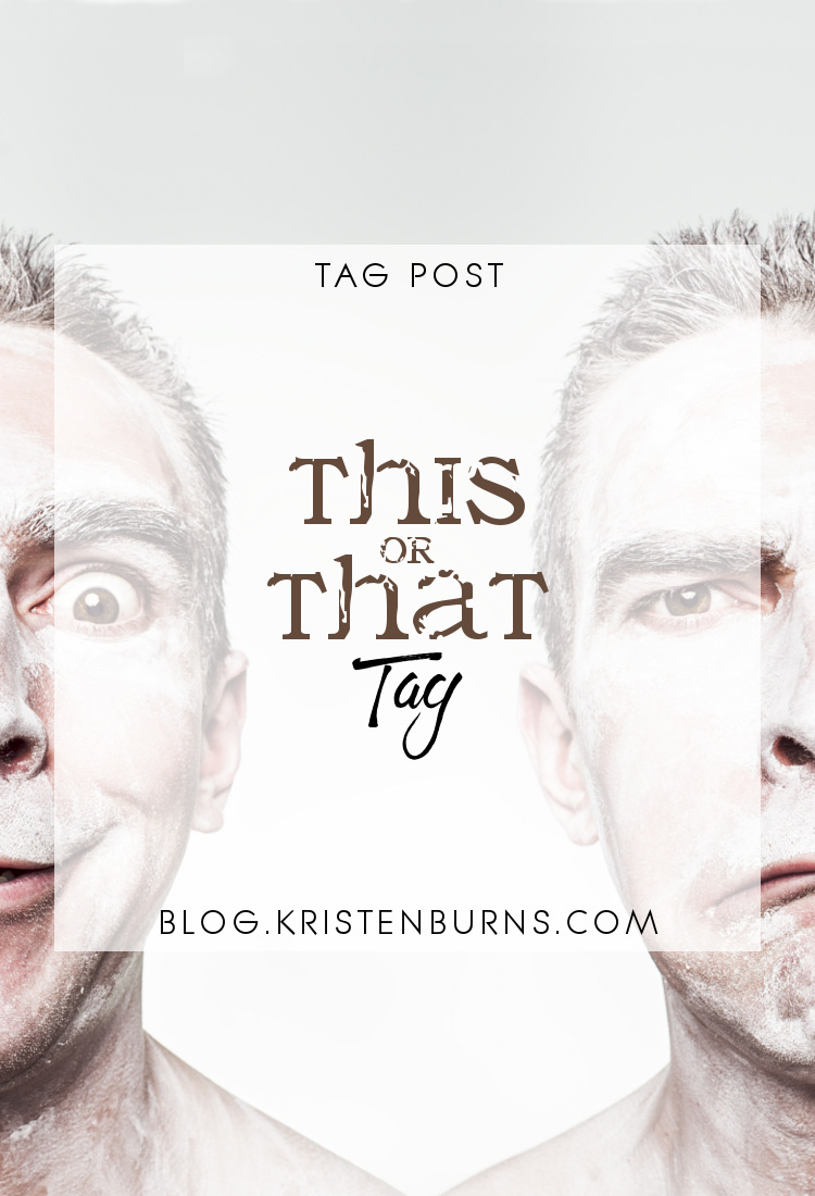 Tag Post: This or That Tag | reading, books