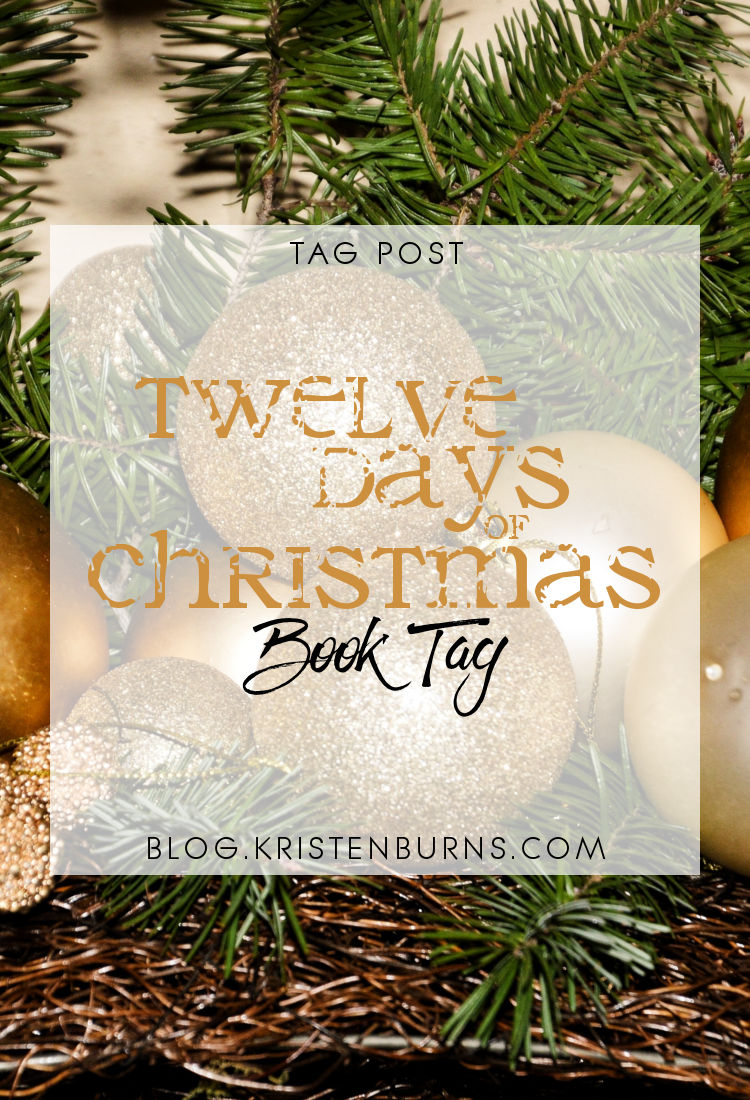 Tag Post: Twelve Days of Christmas Book Tag | reading, books, book tags