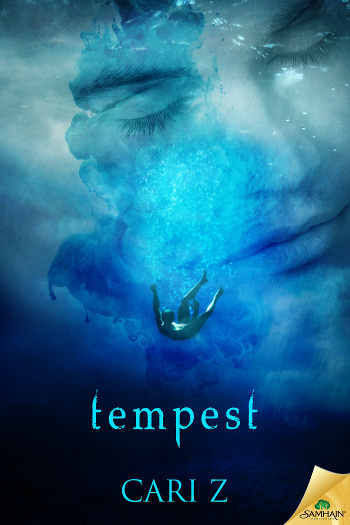 Book Review: Tempest by Cari Z | books, reading, book covers, book reviews, lgbt, fantasy, historical fantasy, paranormal romance, urban fantasy, mermen