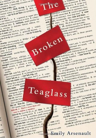 The Broken Teaglass by Emily Arsenault | books, reading, book covers