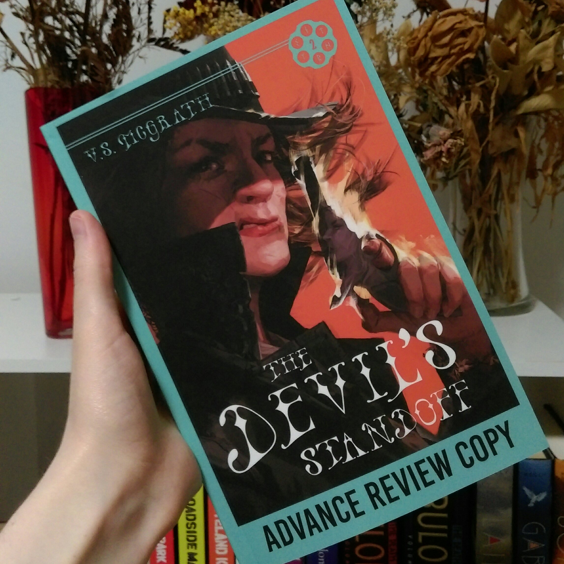 The Devil's Standoff by V.S. McGrath ARC