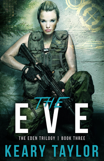 Book Review: The Eve (The Eden Trilogy Book 3) by Keary Taylor   books, reading, book covers, book reviews, sci-fi, dystopian, post-apocalyptic, YA, cyborgs
