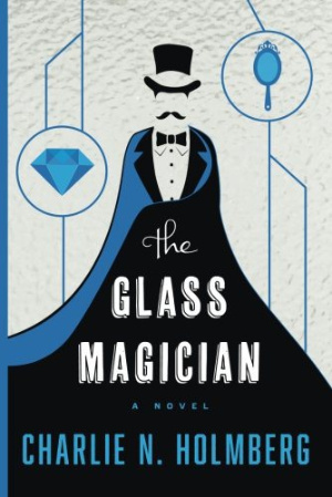 Book Review: The Glass Magician (The Paper Magician Book 2) by Charlie N Holmberg | books, reading, book reviews, book covers, fantasy, urban fantasy, paranormal romance