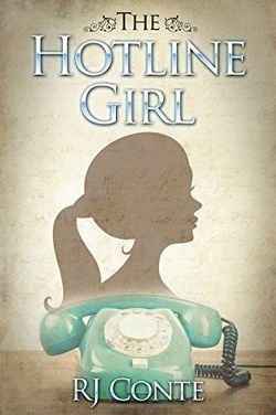 The Hotline Girl by RJ Conte | books, reading, book covers, cover love, phones