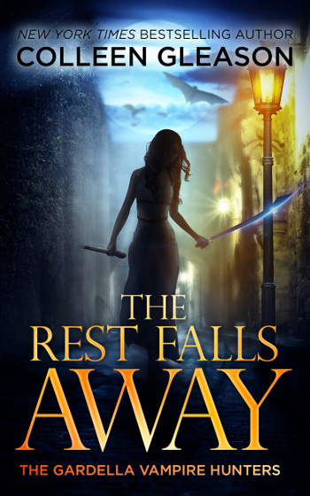 Book Review: The Rest Falls Away (The Gardella Vampire Hunters Book 1) by Colleen Gleason | books, reading, book covers, book reviews, fantasy, historical fantasy, paranormal romance, urban fantasy, vampires