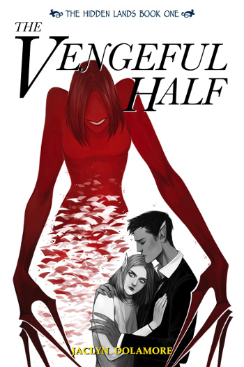 Book Review: The Vengeful Half (The Hidden Lands Book 1) by Jaclyn Dolamore   reading, books, book reviews, fantasy, urban fantasy, young adult, telepaths, blindness