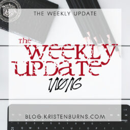 The Weekly Update: 1/10/16
