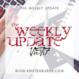 The Weekly Update: 1/15/17
