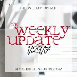 The Weekly Update: 1/29/17
