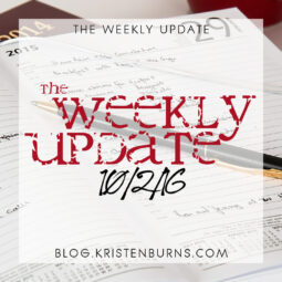 The Weekly Update: 10/2/16