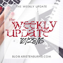 The Weekly Update: 10/23/16