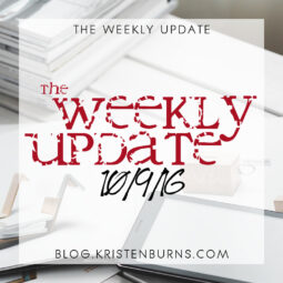 The Weekly Update: 10/9/16